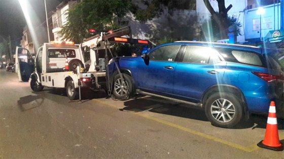 Conductora se opuso al test de alcoholemia y atacó a policías e inspectores