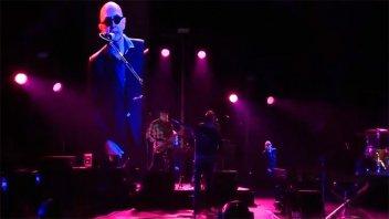 Misa gratis: la banda del Indio Solari liberó su show en YouTube