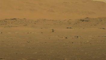 El helicóptero Ingenuity de la NASA realizó su primer vuelo en Marte