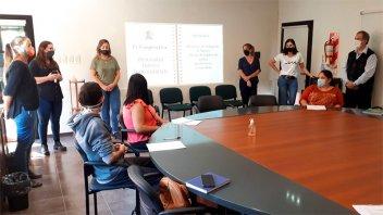 Oficina de Empleo comenzó curso de Gestión Empresarial para emprendedores