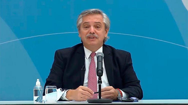 Fernández habló del precio de la carne y de las restricciones por la pandemia