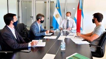 El Gobernador Bordet analizó la marcha de la obra pública en la provincia