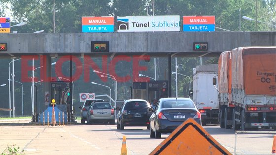 """Restricciones horarias en el Túnel: """"Solo circularán esenciales y el transporte"""""""