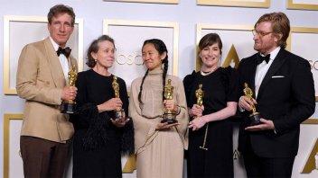 """Todos los ganadores en los Oscar, con """"Nomadland"""" como gran triunfadora"""
