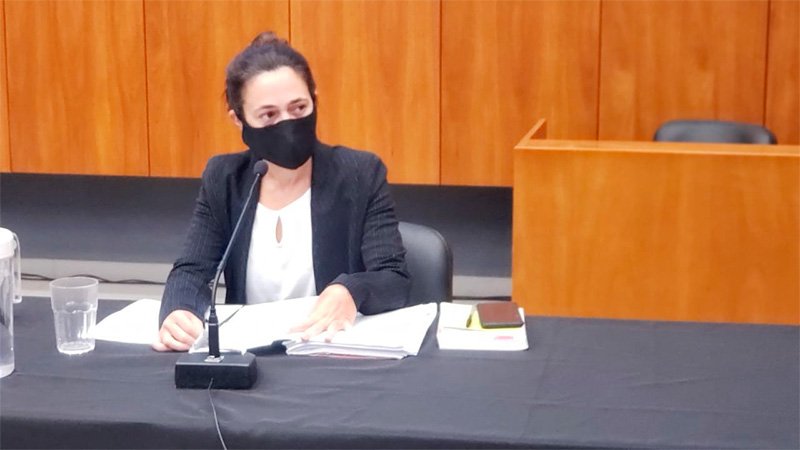 La fiscal Natalia Taffarel
