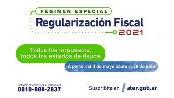 Regularización Fiscal 2021: se inicia con beneficios para quienes adhieran