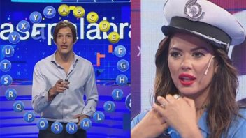 Karina Jelinek reaccionó a las burlas por su desempeño en Pasapalabra