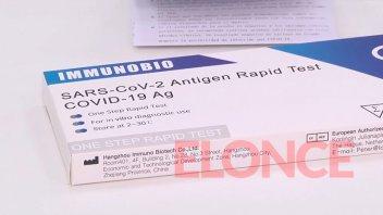 Farmacia de Paraná vende el test rápido de Covid-19: precio y cómo se realiza