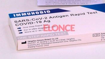 Prohibieron el test rápido para detectar Coronavirus que ya se vendía en Paraná