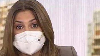 Maju Lozano defendió uso de barbijos en TV: