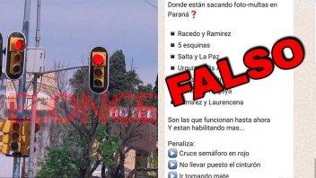 """La Municipalidad desmiente que esté en funcionamiento el sistema de """"fotomultas"""""""