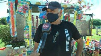 """""""Es mi primer día como jubilado"""", aseguró vendedor en el Día del Trabajador"""