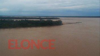 Prevén que la bajante del río Paraná continúe hasta junio: imágenes