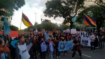 En Argentina repudiaron represión que se vive en Colombia