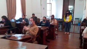 Sesión del HCD de Nogoyá duró dos minutos: