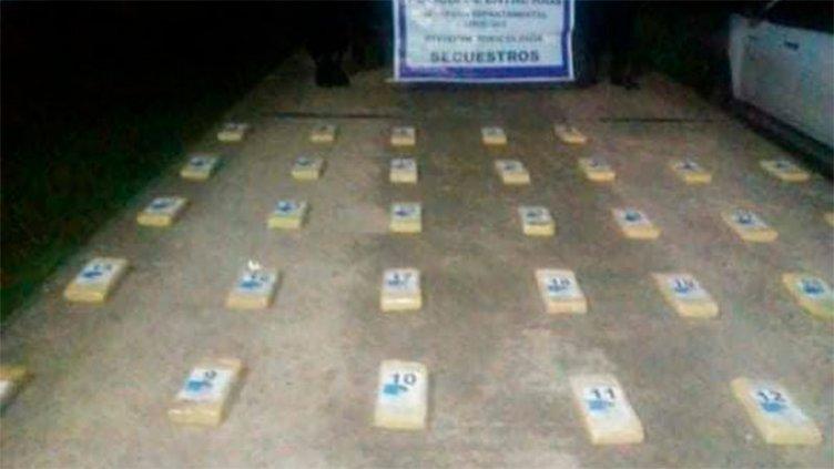 Hallan más cocaína en campo entrerriano: la droga vale más de 500.000 dólares