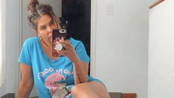 Nazarena Vélez se animó a un contundente cambio de look