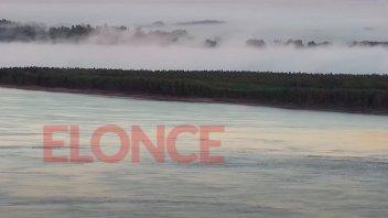 El amanecer más frío en lo que va del año en Entre Ríos: menos de 5 grados