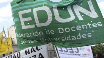 La Federación de Docentes de las Universidades aceptó la propuesta salarial