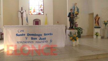 Fiesta Patronal de Santo Domingo Savio: realizarán dos misas por la tarde