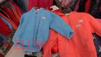 La llegada de las bajas temperaturas impulsó las ventas en comercios céntricos