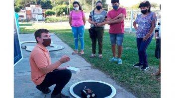 La Municipalidad lleva la ciencia a los barrios con muestra de robótica