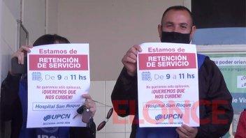 UPCN denunció el incumplimiento de protocolos sanitarios en hospital San Roque