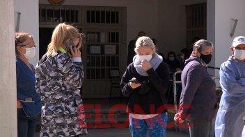 Vacunaron contra el covid a menores de 59 años con turnos reprogramados