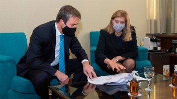 La ministra Romero se reunió con el nuevo Ministro de Justicia de la Nación