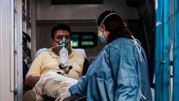 Reportaron 611 fallecidos en el país y 22.552 contagios en las últimas 24 horas