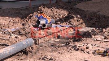 Culminó el recambio de válvulas: Comenzará a normalizarse el servicio de agua