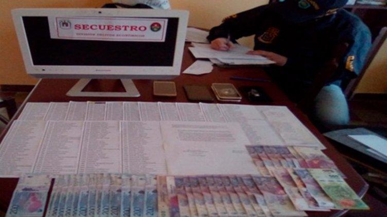Estafa al hogar Ángeles Custodios: hallaron recibos que involucran a cobradores