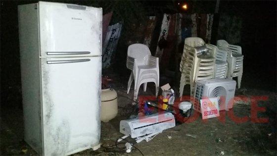 Desvalijaban casa quinta: se habían llevado hasta los acondicionadores de aire
