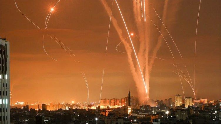 Crece la tensión: Israel lanzó un masivo ataque aéreo contra la Franja de Gaza