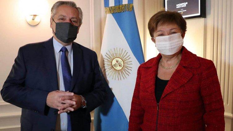Georgieva dijo que la reunión con Fernández