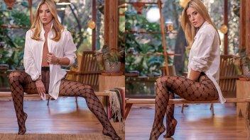 """Jésica Cirio lució muy sensual y habló de una prenda """"clave"""" para el invierno"""