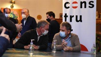 Galimberti y Schneider iniciaron la campaña con miras a las legislativas