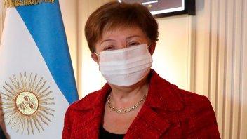 """Georgieva: """"El objetivo es ayudar a la Argentina a construir un futuro próspero"""""""