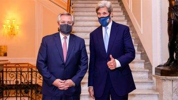 Fernández y Kerry coincidieron en que tuvieron una