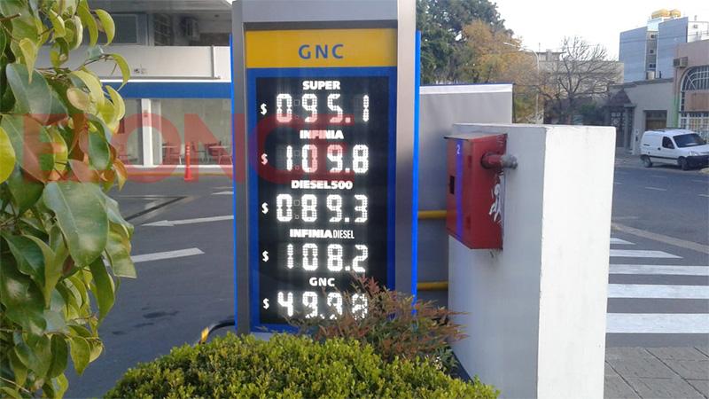Subieron los combustibles: nuevos precios de la nafta y el gasoil en Paraná
