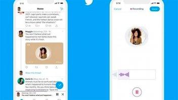 Los mensajes directos de voz llegaron a Twitter: Hay un límite de 140 segundos
