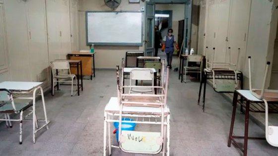 Se confirmó la suspensión de las clases presenciales en Santa Fe y Rosario