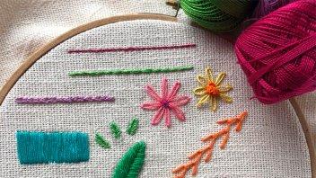 ¿Por qué hacer un curso de bordado online?