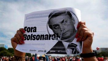 Protestas en Brasil: piden destituir a Bolsonaro por su manejo de la pandemia