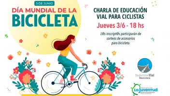 La provincia capacitará en educación vial a jóvenes ciclistas