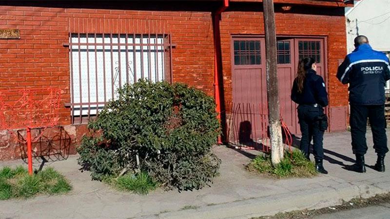 La casa de inquilinato donde ocurrió el homicidio.
