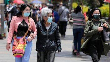 Colombia, con la tasa de contagios más alta de Sudamérica: Nuevo récord de casos
