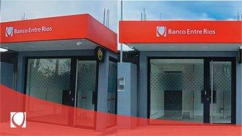 El Banco Entre Ríos inauguró un cajero automático en la localidad de El Pingo