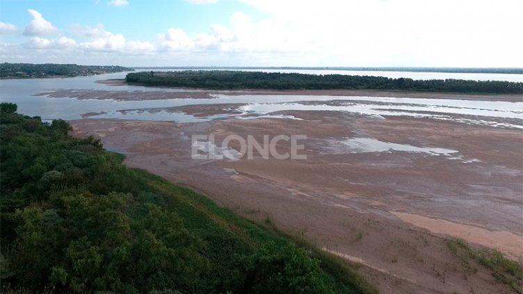 Bajante del río Paraná: estiman que no habrá inconvenientes con el agua potable