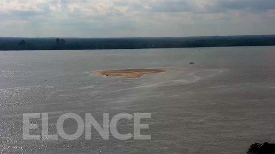 Bajante: el río tiene 14 centímetros de altura en Paraná y crece la preocupación